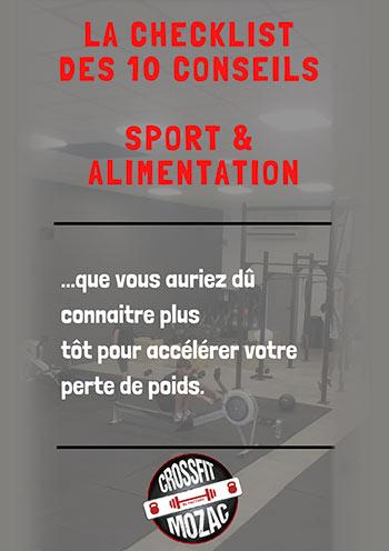 10 conseils sport et alimentation