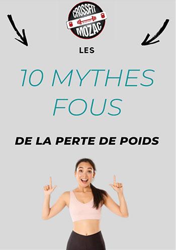 10 mythes fous de la perte de poids